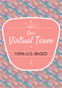 The Virtual Way Station virtual team is 100% U.S.-based